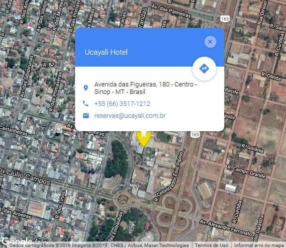 ucayali hotel - localização