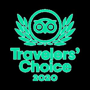 Trip Advisor Travellers Choice 2020